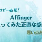Affinger5(アフィンガー)を購入した評判レビュー